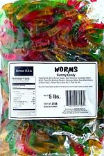 Kervan Gummy Mini Worms 5 Lb Bag