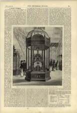 1877 Chocolate Cocoa Exhibit Fry Philadelphia Exhibition