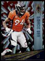 2016 PANINI PHOENIX RED DEMARCUS WARE DENVER BRONCOS #35 PARALLEL
