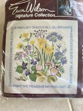Crewel Embroidery Kit -Spring song- Erica Wilson Signature Collection -NEW 1980