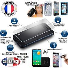 Protection Ecran Verre Trempé Contre les Chocs pour Alcatel One Touch Pop S9