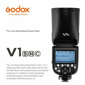 In Stock Godox V1C/N/S 2.4G TTL HSS 1/8000s Camera Flash F Canon Nikon Sony
