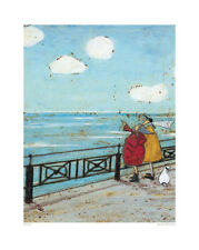 Sam Toft Her Favorite Cloud Contemporary Humor Funny Print Poster 16x20