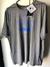 Under Armour Chicago Cubs Threadborne Gray T-Shirt Men's XL 1321858 NWT $41