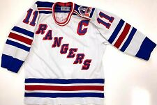 MARK MESSIER NEW YORK RANGERS 1994 STANLEY CUP AUTHENTIC CCM WHITE JERSEY 44