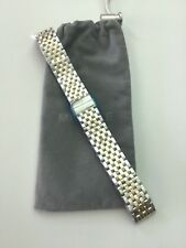 New Michele 16mm Deco 16 7-Link Two-Tone SS / YG Watch Bracelet MS16DM285048