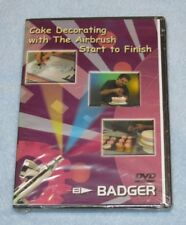 CAKE DECORATING WITH THE AIRBRUSH DVD