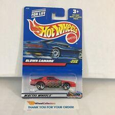 Blown Camaro #229 * RED * 2000 Hot Wheels * NE24