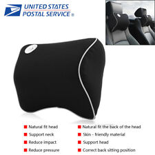 Memory Foam Car Seat Headrest Travel Pillow Head Neck Rest Support Cushion