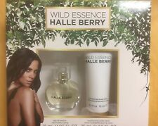 Halle Berry Wild Essence 2 Pc Gift Set Eau de Parfum .5 oz & Body Lotion Perfume