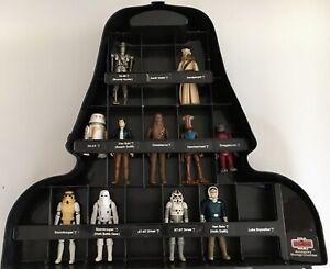 Star Wars Vintage Kenner 19 Figure Lot W/Vader Case Stormtrooper Death Squad