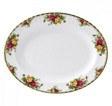 """Royal Albert OLD COUNTRY ROSES OVAL SERVING PLATTER 13.5"""" 1962"""