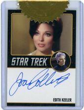 2020 Star Trek Tos Archives & Inscri. Joan Collins Black Border Autograph 9 case