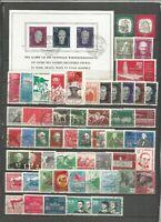 DDR  1958 gestempelt kompletter Jahrgang     h