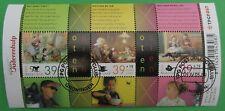 Nederland NVPH 2339 blok zomerzegels Ot en Sien 2 mooi gestempeld