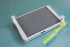 Aluminum Radiator For MG Midget 1275 MT 1967-1974 1968 1969  Dual Core 40MM
