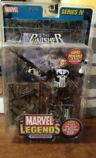 Marvel Legends Punisher Series IV sealed figure and comic