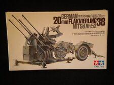 Tamiya 20mm Flakvierling 38 1/35 Kit