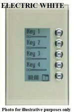 Clipsal C-BUS SATURN DLT WALL SWITCH 5-Gang 5085DL-PW PURE WHITE