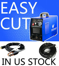 Plasma Cutter 50Amp 110/220V Dual Voltage HF Compact Metal 1-14mm Clean Cut 60HZ