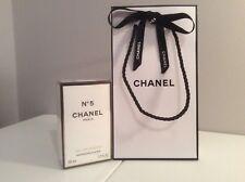 CHANEL CLASSIC No.5 EAU DE PARFUM AND BEAUTIFUL MATCHING GIFT BAG *************