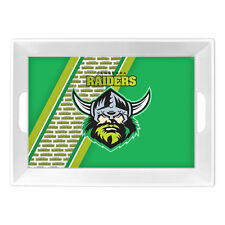 Canberra Raiders NRL Melamine Breakfast Serving Tray Food Drink Party Bar Gift