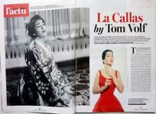 French magazine 2017: MARIA CALLAS