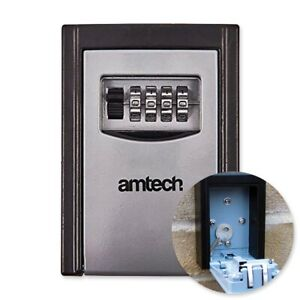 OUTDOOR COMBINATION WALL SAFE Weatherproof Shed Garage Home Security Spare Key