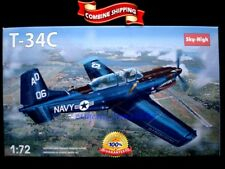 """Sky High 7223 """" Beechcraft T-34C Turbo Mentor """" Plastic Model Kit 1/72"""