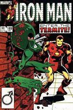 Marvel Comics Iron Man Volume 1 #189 Dec 1984 Fine