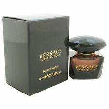 Versace Crystal Noir by Gianni Versace EDT .17 oz Mini Splash