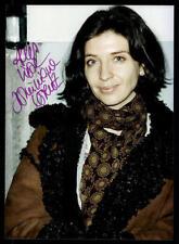 Dominique Lorenz foto firmato originale 13x17,5 # BC G 11918
