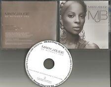 MARY J BLIGE Be Without You MIX & INSTRUMENTAL & ACAPPELLA PROMO DJ CD Single J.
