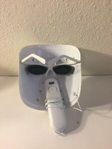 illuMask Acne Phototherapy Red Blue Light Therapy Mask 22 Treatments WORKS!