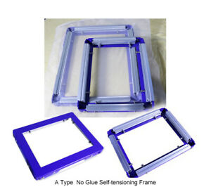 Screen Printing Self-tension Frame Manual Stretcher Recyclable Tool 4 Size