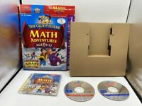 MATH ADVENTURES CLUE FINDERS AGES 9-12 IN RETAIL BIG BOX PC CD-ROM GAME