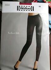 Wolford Velvet 66 Leggings wild azalea Medium