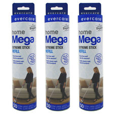 Evercare Home Mega Extreme Stick Refill, 150 Sheets (3 Pack of 50 Sheets each)