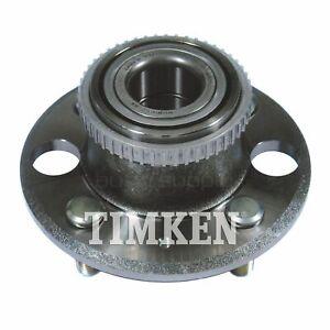 Timken Wheel Bearing and Hub Assembly Rear 513105 for Honda