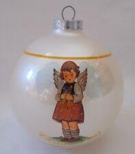 """Sweet Blessings"" 1992 Berta Hummel Glass Ornament"