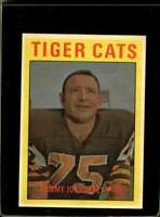 1972 O-PEE-CHEE CFL #8 TOMMY JOE COFFEY EX+  *X2118