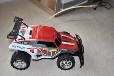 New Bright Rc Car Baja Extreme Tnt Replacement Body and wheels as is