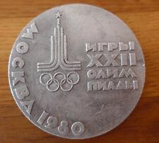 Medaille Olympische Spiele Moskau 1980