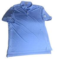 Peter Millar Mens Summer Comfort Beach Bum Short Sleeve Polo Shirt Size Large