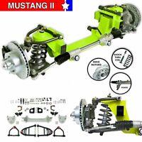 "55-57 International 26"" Frame Mustang 2 IFS Shock Thru Coil 5x45 Pwr LHD Rack"