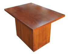 Lane Furniture Mid Century Modern Walnut Paneled Side Accent Coffee Table 1968