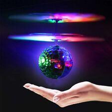 2018 Magic électrique lumière DEL Flying Ball Hélicoptère Capteur Infrarouge Télécommande Toys