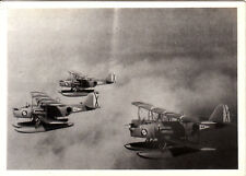 Foto-Spanien Legion Condor-3 Doppeldecker Wasserflugzeuge Staffel-Luftaufnahme