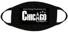 Chicago Tiny House Unisex Facemask