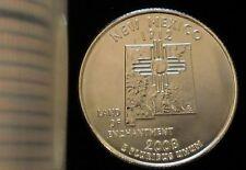 2008-P Philadelphia Mint New Mexico State Quarter SMS